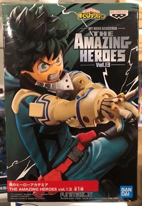 Picture of MY HERO ACADEMIA AMAZING HEROES 13 IZUKU MIDORIYA FIGURE NEW