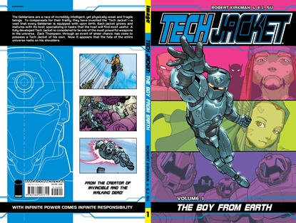 Picture of TECH JACKET TP VOL 01 BOY FROM EARTH (C: 0-1-2)