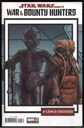 Picture of STAR WARS WAR BOUNTY HUNTERS #5 (OF 5) TRADING CARD VAR