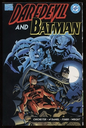 Picture of DAREDEVIL AND BATMAN AN EYE FOR AN EYE ONE-SHOT 9.4 NM