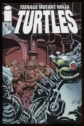 Picture of TEENAGE MUTANT NINJA TURTLES #15 (TMNT) IMAGE COMICS