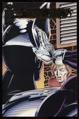 Picture of SHADOWHAWK II (1993) #1 GOLD FOIL VARIANT COVER NM+