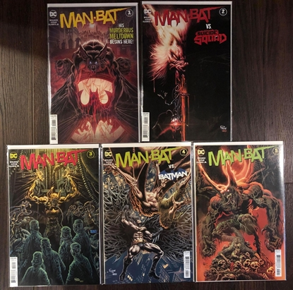 Picture of MAN-BAT (2021) #1 2 3 4 5 / 1ST PRINT COVER A SET NM