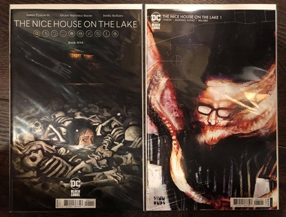 Picture of NICE HOUSE ON THE LAKE #1 / COVER A & B 1ST PRINT SET NM+