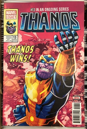Picture of THANOS #13 5TH PRINT SHAW VARIANT