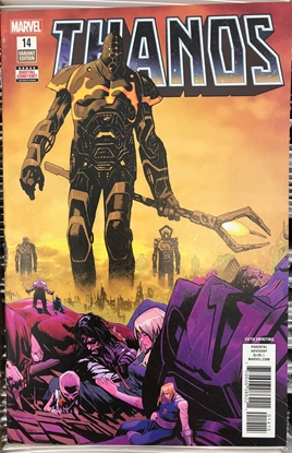 Picture of THANOS #14 5TH PRINT SHAW VARIANT