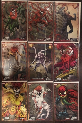 Picture of EXTREME CARNAGE #1-8 CONNECTING COVER VARIANT SET NM