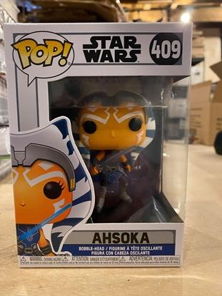Picture of POP STAR WARS ASHOKA #409 NEW VINYL BOBBLE-HEAD