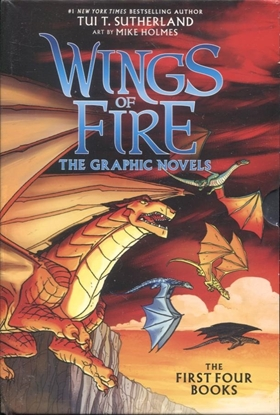 Picture of WINGS OF FIRE GN BOX SET #1 VOL 1-4 (C: 0-1-0)