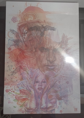 Picture of COMPLETE AMERICAN GODS HC (MR) (C: 1-1-2)