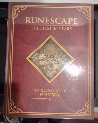 Picture of RUNESCAPE FIRST 20 YEARS AN ILLUSTRATED HISTORY HC (C: 0-1-2
