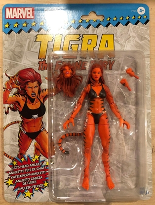 """Picture of SPIDER-MAN LEGENDS TIGRA 6"""" ACTION FIGURE"""