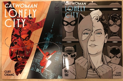 Picture of CATWOMAN LONELY CITY #1 COVER A AND B SET CLIFF CHIANG (MR)