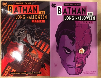 Picture of BATMAN LONG HALLOWEEN SPECIAL ONE SHOT (2021) COVER A+B VARIANT SET NM