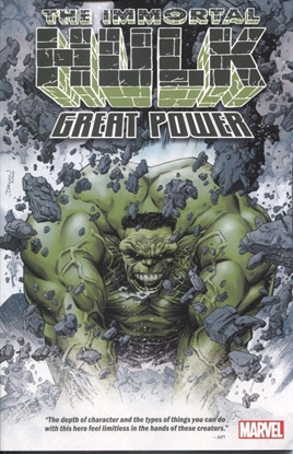 Picture of IMMORTAL HULK TP GREAT POWER
