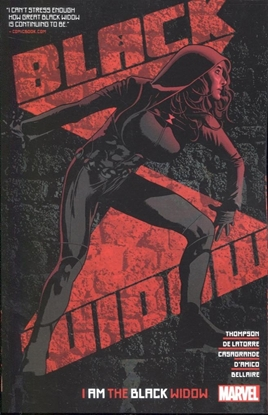 Picture of BLACK WIDOW BY KELLY THOMPSON TP VOL 02 I AM BLACK WIDOW