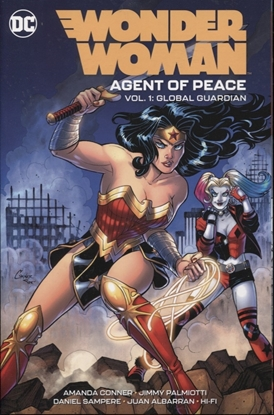 Picture of WONDER WOMAN AGENT OF PEACE TPB VOLUME 1 GLOBAL GUARDIAN
